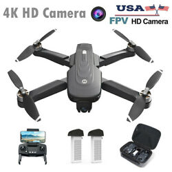 Holy Stone HS175D RC Drone with 4K Camera Brushless Quadcopter GPS Mins FlyCase $199.99