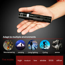 SUPERFIRE XHP50 LED Tactical flashlight rechargeable Torch 18650 Battery A5 US $11.99