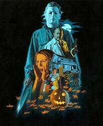 Poster Halloween 1978 Movies Wall Living Room No Frame $16.99