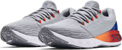 NIB UNDER ARMOUR 3024489 100 MENS UA CHARGED VANTAGE SP PNR GREY SNEAKERS SHOES $52.95