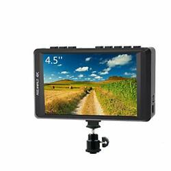 FW450 4.5 Inch DSLR On Camera Field Monitor 4K HDMI Input Output Small HD $184.82