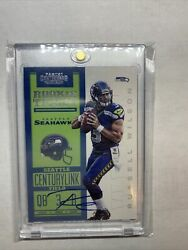 2012 CONTENDERS RUSSELL WILSON AUTO RC WITH BOLD SIGNATURE 550 $2299.99