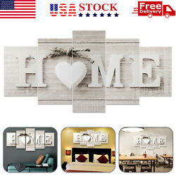 5PCS Unframed Modern Wall Art Painting Print Canvas Picture Home Room Decor Gift $12.49