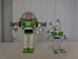 Disney Toy Story Buzz Lightyear Large lights up and Small Buzz