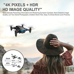 KY906 Mini Foldable Drone 4K Wifi RC Quadcopter 360 Rolling Boys Girls Toys $26.21