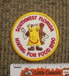 Boy Scouts Southwest Florida Council 1990 Hiking for Food BSA Patch NEW $6.00