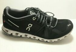 ON Running Women's Cloud 2.0 Running Shoes Black White Size 8.5W $81.00