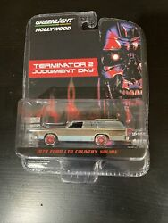 GreenLight Hollywood Terminator 2 1979 Ford Country Squire Target Red Chase #103 $84.99