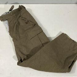 vintage homemade levi paper tab army wool pants size 36x34 $150.00