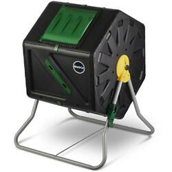 Compact Design 27.7 Gal Single Chamber Tumbling Composter Outdoor Bin $109.78