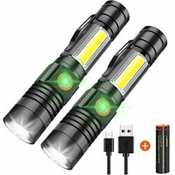 LED Flashlight Rechargeable 1000 Lumens Super Bright Tactical Flashlights2 $36.74
