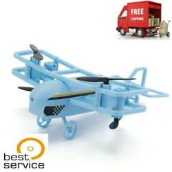 JJR C H95 2.4G Intelligent RC Mini Drone Helicopter with Remote Controller Blue $36.81