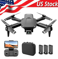 S68 RC Drone with 4K Camera WIFI FPV Drone Mini Foldable RC Quadcopter for Kids $27.52