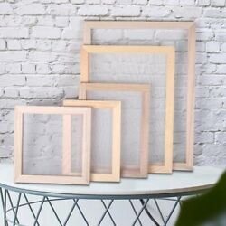 Paper Making Screen Includes Wooden Paper Making Mold Frame DIY Paper Craft $6.70