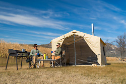 Wall Tent Stove Jack Outfitter Prospector Large Canvas Outdoor Large Hunting New $516.25