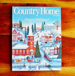 Country Home Magazine Dec 1993 Christmas Debbee Thiebault WWII Ornaments $8.99