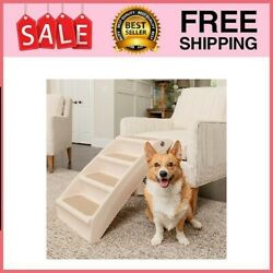 CozyUp Folding Pet Steps Foldable Dog Stairs for High Beds $43.92