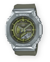 Casio G Shock Neobrite Super LED Stainless Steel Gray Ion Plated GMS2100 3A