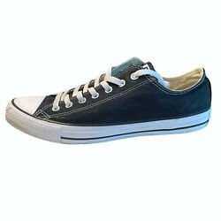 Converse Classic Chuck Taylor All Star Mens Sneakers Size 12 Black Low Top Shoes $26.99