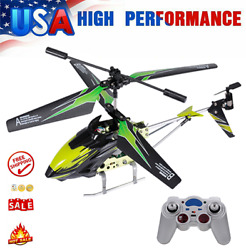 Wltoys XK S929 A RC Helicopter Alloy 2.4G Remote Control Toy for Kids Gift L3F2 $32.13