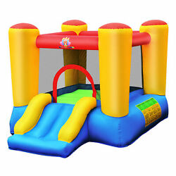 Kids Inflatable Bouncer Bounce House Jumping Area Slide Without Blower $128.49