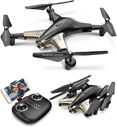 Syma X300 Foldable Drone with Camera for Adults 1080P FHD FPV Live Video Flow 2 $113.41