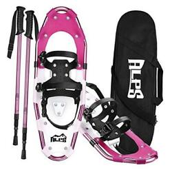 14 17 19 21 25 27 30 Inch Snowshoes for Women Men Youth 25quot; 120 200lbs Red $148.39