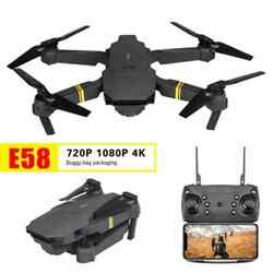 2021 RC Drone With Camera 4k HD Wide Angle WIFI FPV Selfie Foldable Quadcopter $45.00
