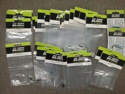 34 E Flite Blade Nano CPX Helicopter parts 34 Sealed Packs $120.00