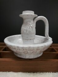 Pottery Barn Candle Holder White $20.00