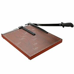Paper Cutter Guillotine Paper Trimmer with 12 inch Cut Length A3 B7Paper Red $65.45