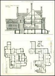 1877 LOWTHER LODGE KENSINGTON R. NORMAN SHAW First Floor Basement *BNLg71 GBP 30.00
