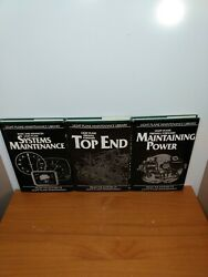 3 BOOKS: LIGHT PLANE MAINTENANCE LIBRARY: Top End Systems maintenance Power.. $27.49