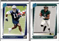 2021 Donruss Football Rated Rookie RC You Pick From A List $3.99