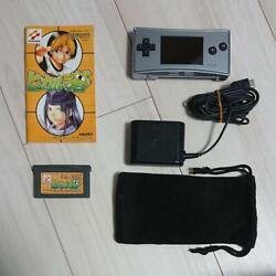 Gameboy micro with Hikaru#x27;s Go AC adapter Carrying pouch set Japan $310.54