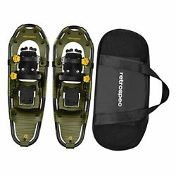Drifter Snowshoe for Men amp; Women Aluminum All Terrain with Fully 30quot; Olive $109.43