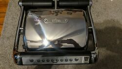 All Clad Electric Indoor Meat Grill with Autosense Model 8358S1 MSRP $360 $120.00