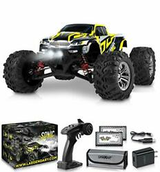 1:16 Scale Large RC Cars 40 kmh Speed Boys Remote Control Car Black Yellow $144.56
