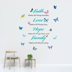 Removable Wall Sticker Safely 35*60CM TV Background Wall Bedroom Decals C $16.73