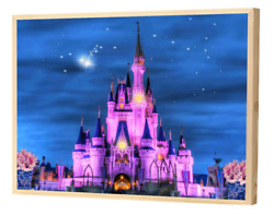 Canvas Wall Art Painting Posters Castle LED Home Decor Pictures Artwork Prints $39.28