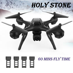Holy Stone HS130D Headless GPS RC Drone with 2K FHD Camera Quadcopter 4 Battery $99.00