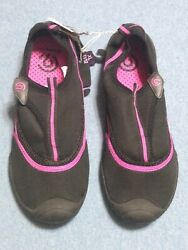 C9 Champion Women#x27;s Black amp; Pink Lucille Water Shoes Size XL 11 12 NEW $16.89
