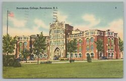 Providence Rhode Island Front View Of College Vintage Postcard $2.00
