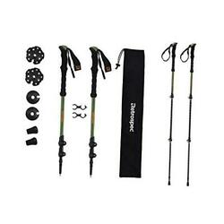 Solstice Trekking and Ski Poles for Men and Forest Green Aluminum Foam GrIp $33.76