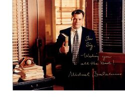 Michael Badalucco-signed photo-Certified-50