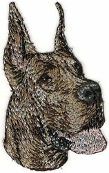 Great Dane Brindle Dog Breed Embroidery Patch $2.99