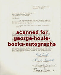 BILLY WILDER~CONTRACT~BALL OF FIRE~1947- SIGNED