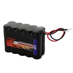 Tenergy 12V 2000mAh NiMH Battery Pack w Bare Leads DIY Rechargeable RC Battery $29.99