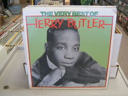 Jerry Butler The Very Best of vinyl LP 1975 United Artists EX