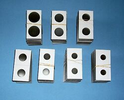 Two Hundred (200) Assorted Size-YOU PICK 2X2 CardboardMylar Coin Holders Flips